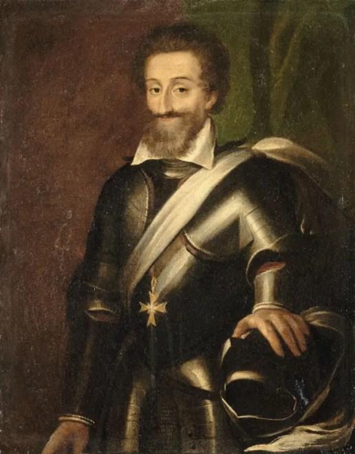 Henri IV par l'école française du début du XVIIème siècle - Musée du château de Pau