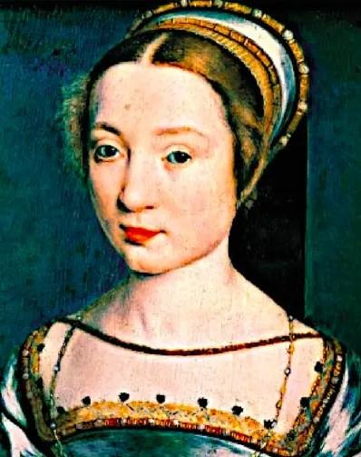 La Reine Claude de France, première épouse de François Ier, par Corneille de Lyon