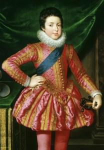 Louis XIII par Pourbus le Jeune (détail)