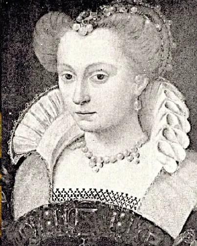 Louise de Lorraine d'après un dessin réalisé par François Clouet