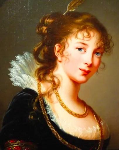 Louise de Prusse par Elisabeth Vigée-Le Brun en 1801