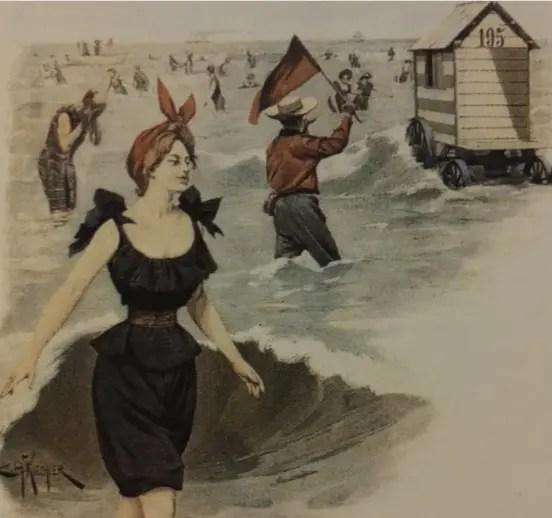 Bains de mer des têtes couronnées : thérapie réglementée