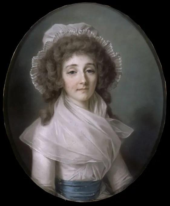 Louise d'Esparbès de Lussan, comtesse de Polastron par Alexandre Kucharski - Collection du château de Versailles