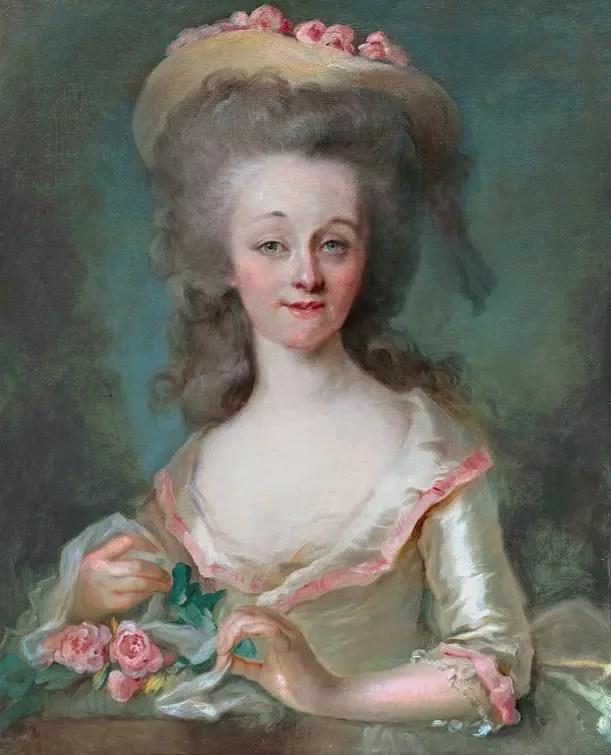 Portrait présumé de Louise d'Esparbès de Lussan