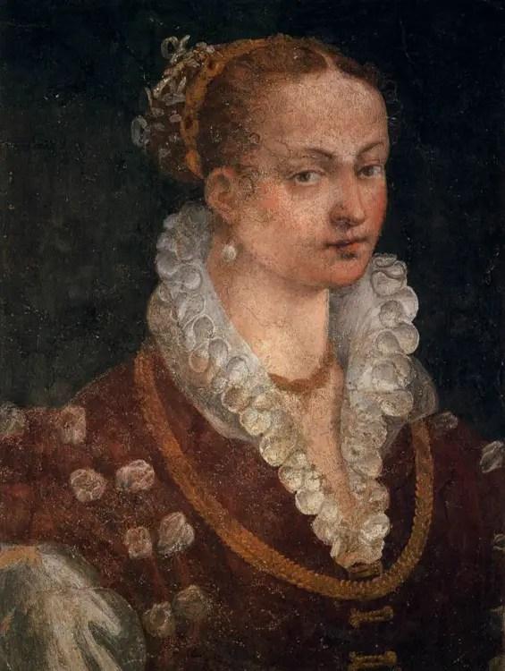 Bianca Cappello par Alessandro Allori, vers 1680 (Galerie des Offices de Florence)
