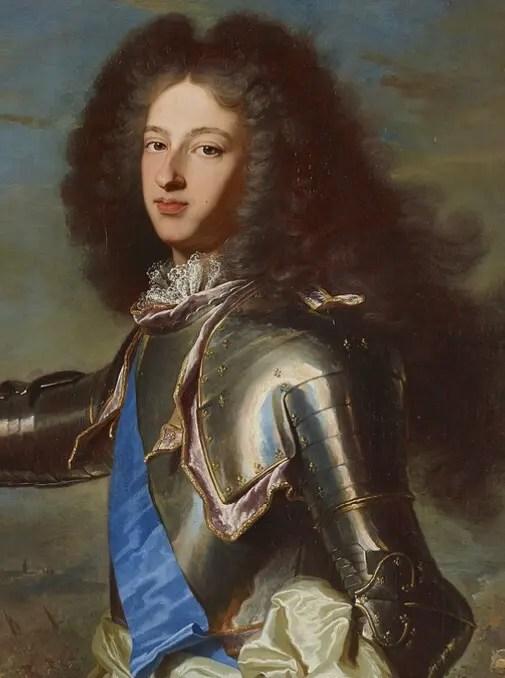 Le duc de Bourgogne, par Hyacinthe Rigaud (château de Versailles)