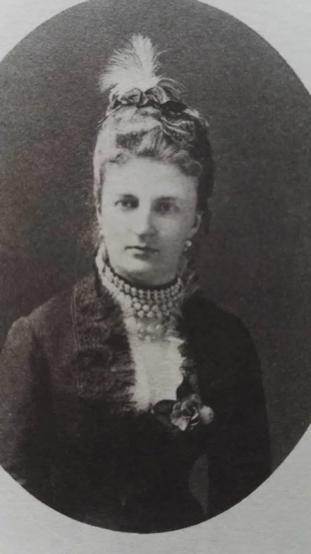 Amélie de Saxe-Cobourg, seconde fille de Clémentine (Collection D. Carlos Tasso)