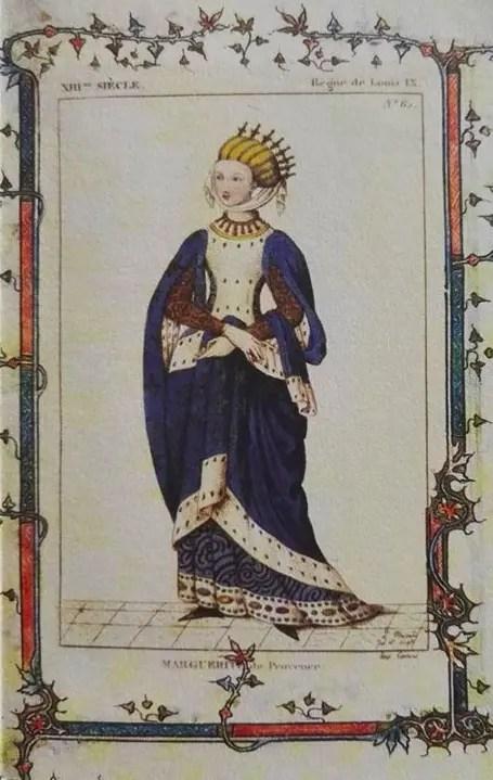 Miniature représentant Marguerite de Provence