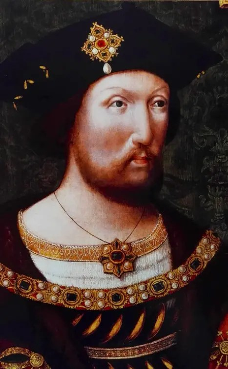 Henry VIII par un artiste inconnu vers 1520 (London National Portrait Gallery)