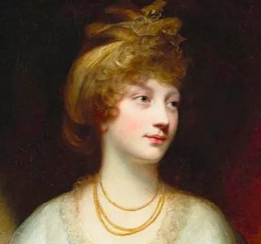 Amélia, dernière fille du Roi fou George III
