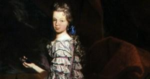 Marie-Louise, Reine-enfant de Philippe V d'Espagne