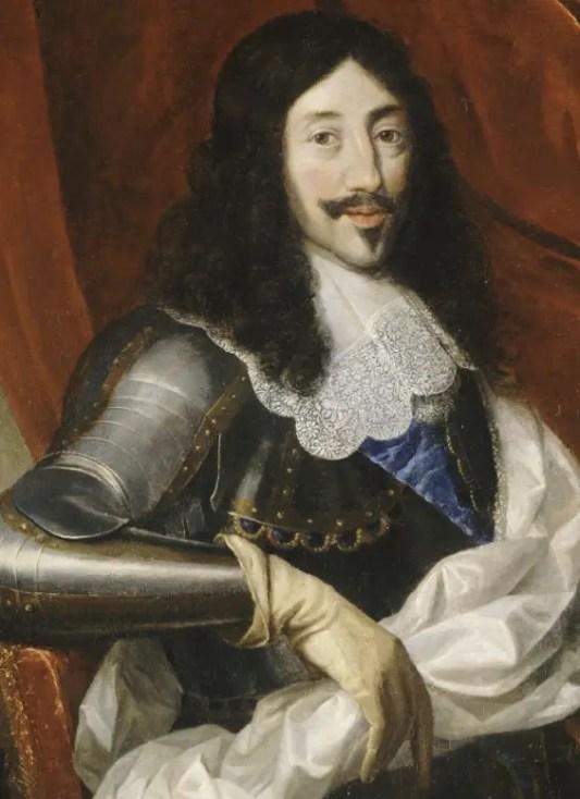Louis XIII d'après Justus Van Egmont (Château de Versailles)