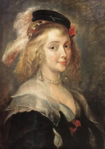 Hélène Fourment l'année de son mariage, par Rubens (1630 - Musées royaux des Beaux Arts de Bruxelles)