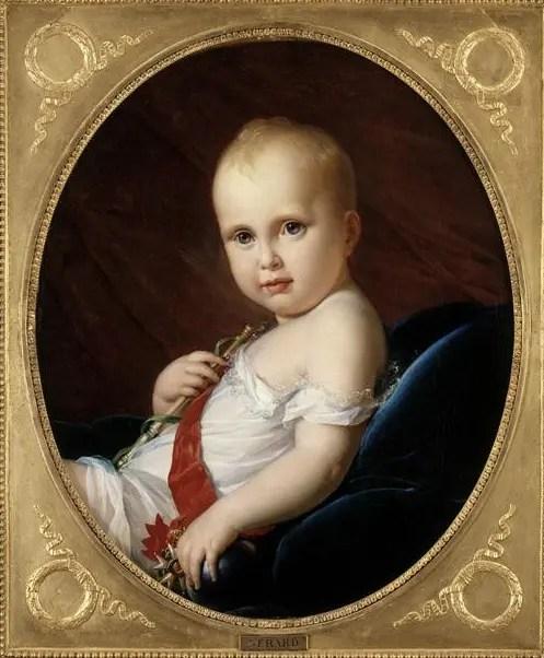 Le Roi de Rome peint par le baron Francois Gérard