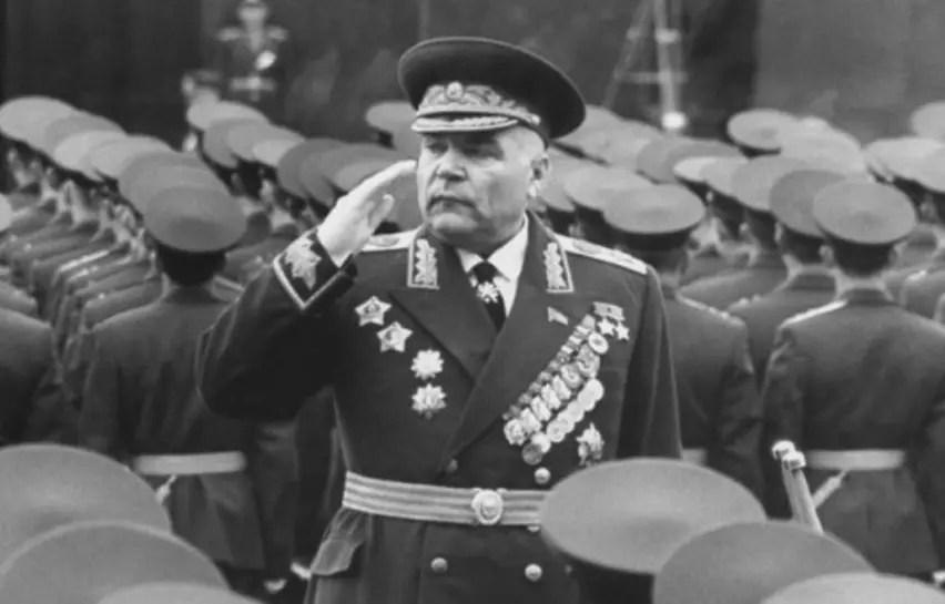 Le maréchal Rodion Malinovski