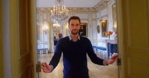 Sébastien Bagot, guide-conférencier au château de Breteuil