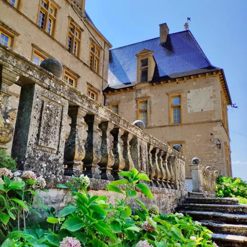 Extérieur du château de Fléchères
