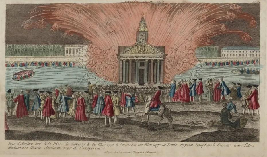 Feu d\u0027artifice mortel  l\u0027union maudite de Louis XVI et Marie,Antoinette ?