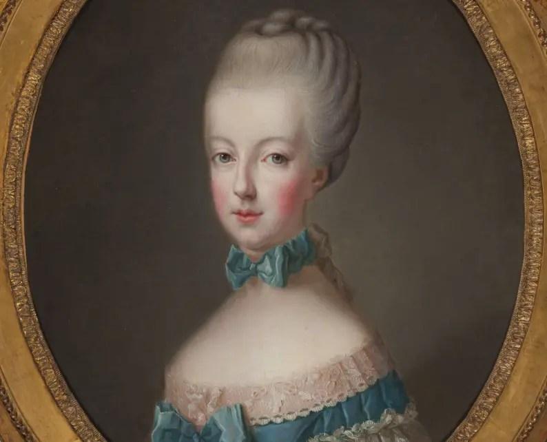 Marie-Antoinette en 1770 par un peintre anonyme