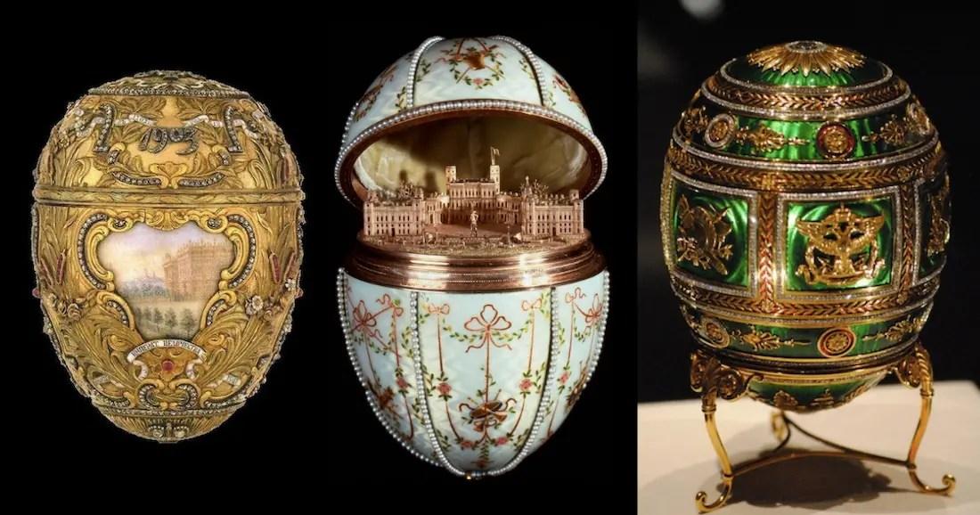 Les œufs Fabergé : présents impériaux