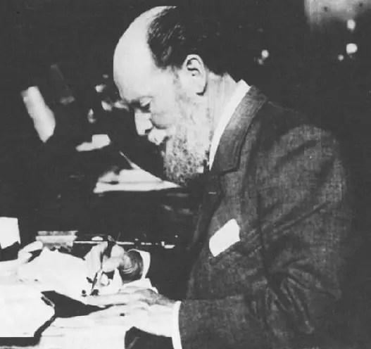 Carl Fabergé dans les années 1900
