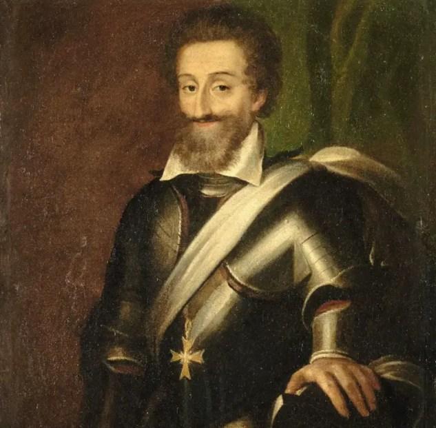Henri IV par un peintre anonyme - Château de Pau