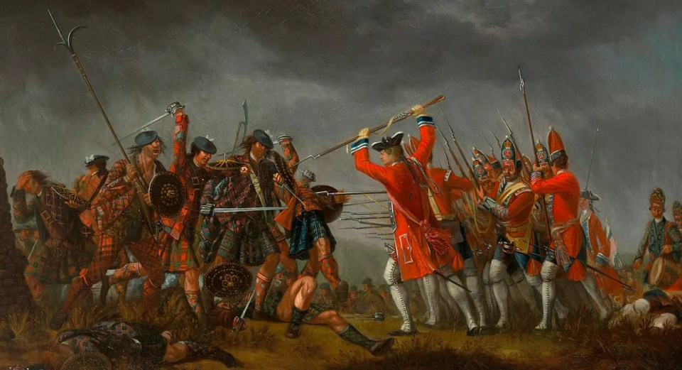 La bataille de Culloden par David Morier Royal Collection Trust