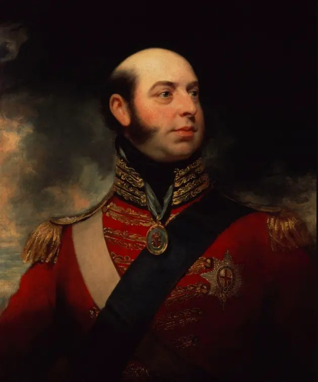 Edward duc de Kent par William Beechey en 1818 portrait gallery