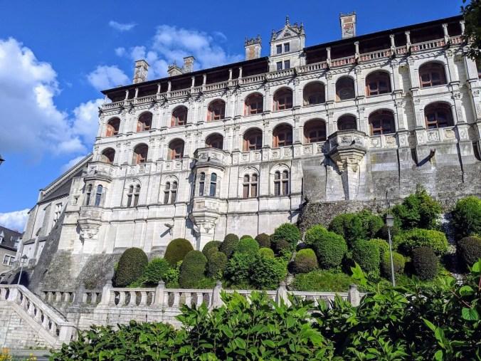 Façade François Ier du château de Blois, qui donnait sur de vastes jardins - ©MariePetitot