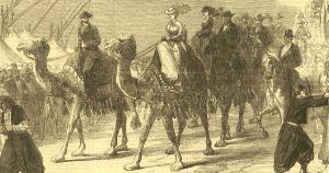 Inauguration du canal de Suez : l'impératrice Eugénie à son apogée !