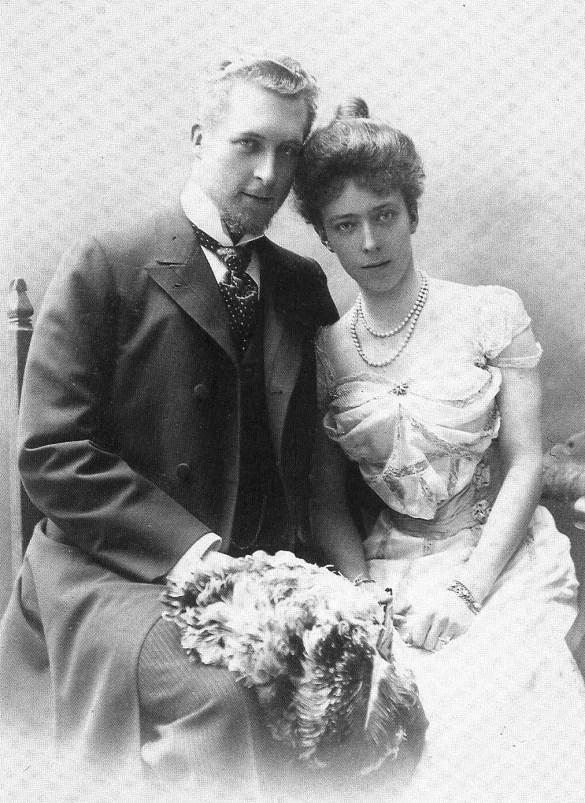 Albert et Élisabeth jeunes fiancés