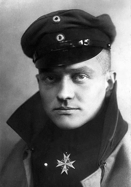Photographie officielle de Manfred von Richthofen