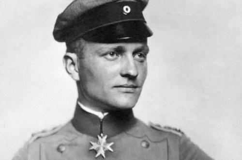 Le baron rouge Manfred von Richthofen