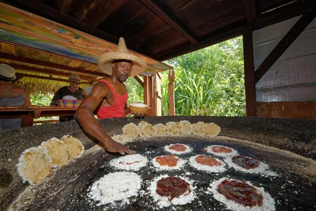 preparation cassaves de manioc