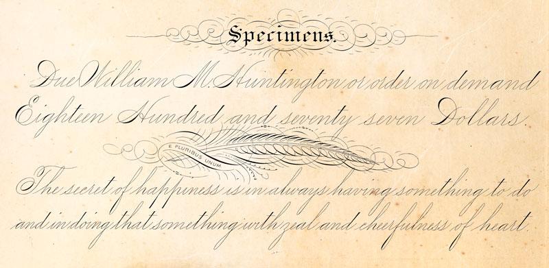 """J'offre à présent un cours en ligne pour l'apprentissage des bases de la calligraphie spencerienne, vous trouverez tous les détails dans la rubrique """"shop""""."""