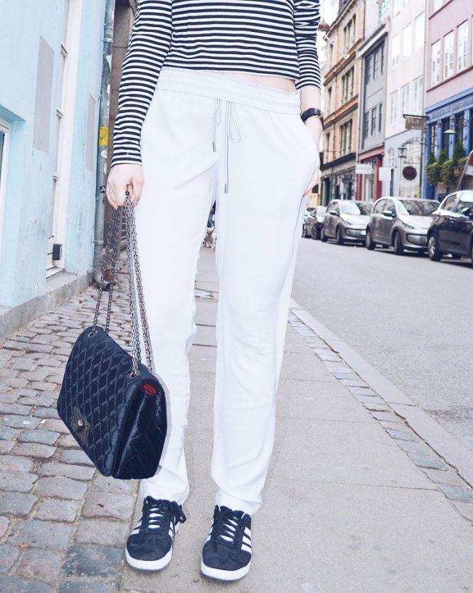 street style sport pants