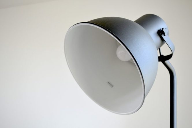 lampe de salon canapé