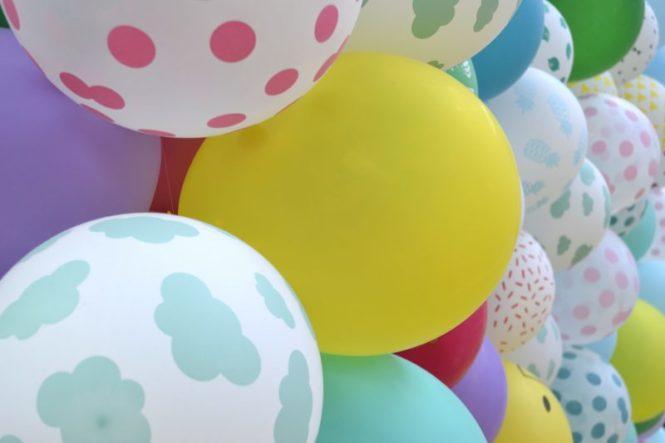 ballons fun instapreneurs fair in paris