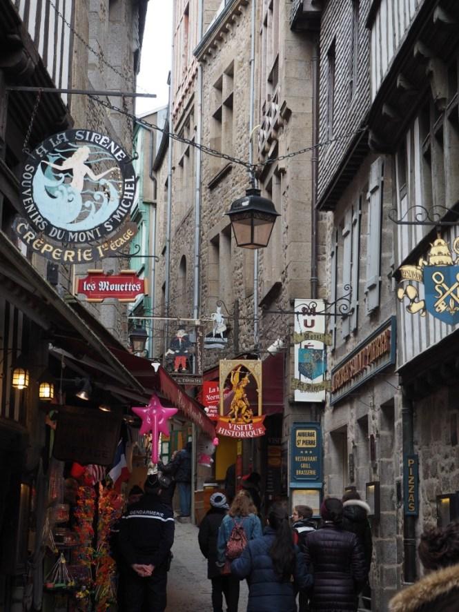 rue mont saint Michel