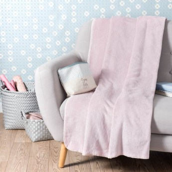 Chantilly Plaid rose 150 x 230 cm En stock 29,99 €