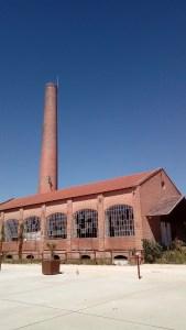 Une usine de papier