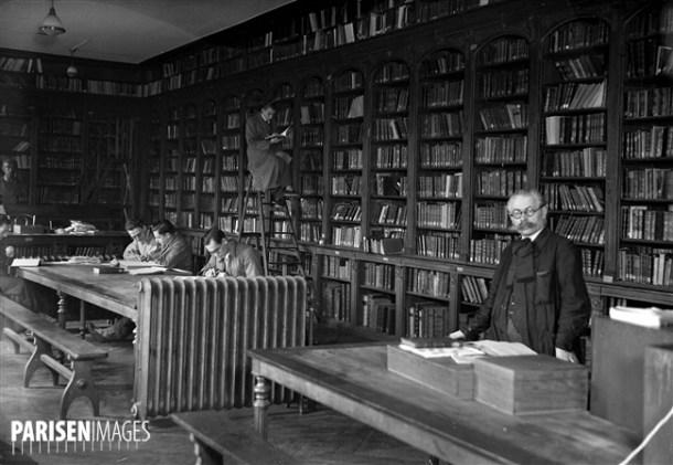 Bibliothèque de l'Ecole normale supérieure. Paris
