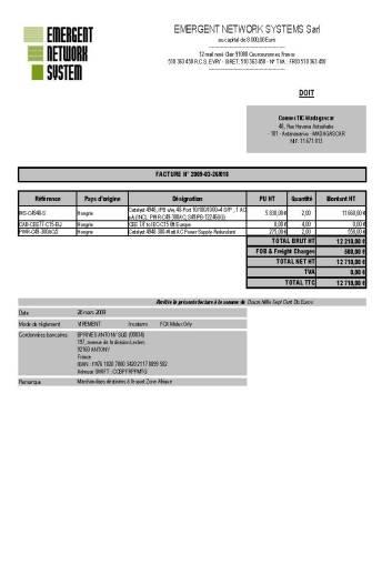 RANARISON Tsilavo est celui qui établit les factures de la société EMERGENT pour la société Connectic - Email du 2 avril 2009_Page_4