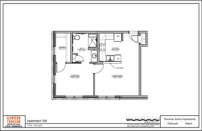 Plummer School Apartment Floor Plans 108