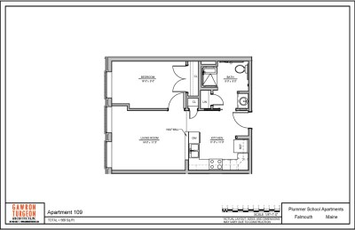 Plummer School Apartment Floor Plans 109