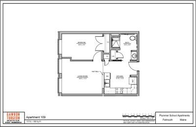 Plummer School Apartment Floor Plans 109