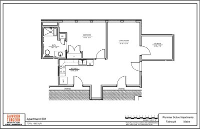 Plummer School Apartment Floor Plans 301