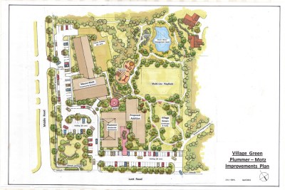 Plummer Motz Village Green Master Plan, April 2015