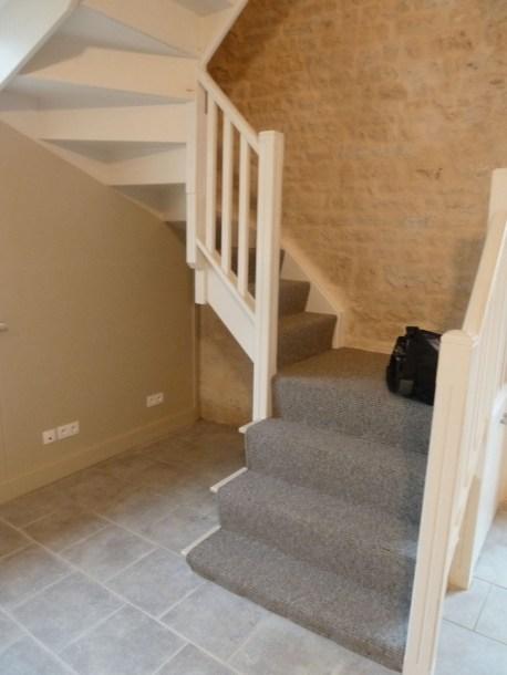 Janvier 2013 - moquette escalier