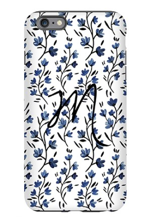 Blue Belle Phone Case - Caitlin Wilson Line